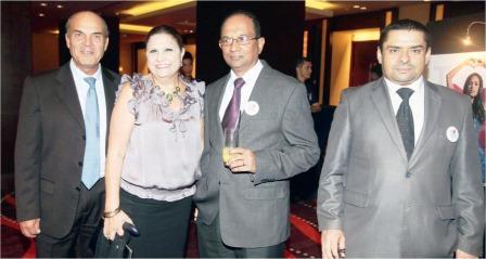 Israeli-Ambassador-Menashe-Bar-On-and-wife-Mme.-Eti-with-Bangladeshi-Ambassador-John-Gomes-and-Iraqi-Ambassador-Ahmed-Kamal-Hassan-Al-Kamaly